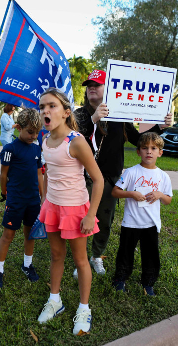 Image: TOPSHOT-US-VOTE-FLORIDA