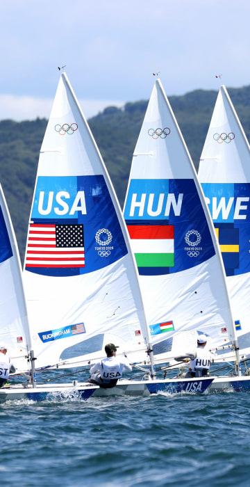 Image: Sailing - Olympics: Previews