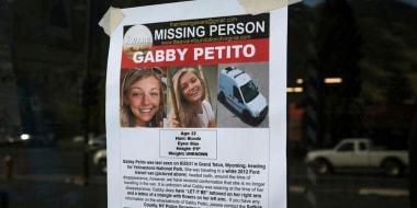 Image: Gabby Petito sign