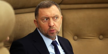 Russian billionaire and businessman Oleg Deripaska attends a meeting at the Kremlin in Moscow on Dec. 19, 2016.