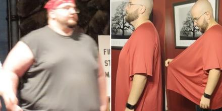 Adam Garner lost 200 pounds in a year.