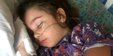 Lacey Grace's daughter Elianna became sick days after inhaling water. Grace is sharing their story to help other moms become aware of secondary drowning risks.