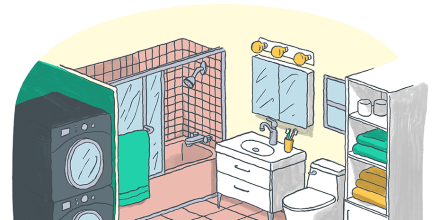How to deep clean your bathroom quickly