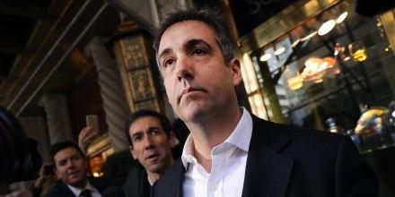 Image: Michael Cohen Leaves Manhattan Apartment For Three-Year Prison Sentence