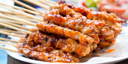 Image: Chicken kabob marinade