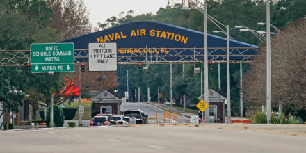 Image: Shooting On Naval Air Station Pensacola Leaves Multiple Dead And Injured