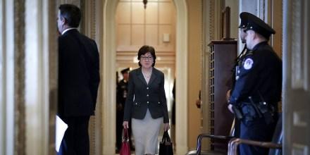 Image: Susan Collins, Senate Impeachment Trial Of President Trump Continues