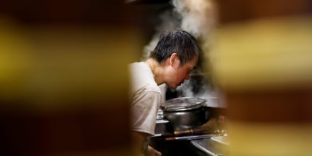 Image: Mr. Chan cooks at Jade Garden Restaurant in Seattle's Chinatown-International District, as the business moves to takeout-only due to new state restaurant requirements during the outbreak of coronavirus disease (COVID-19), in Seattle