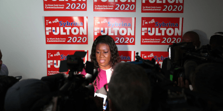 Image: Sybrina Fulton, Mother Of Trayvon Martin, To Run For Miami-Dade Commissioner