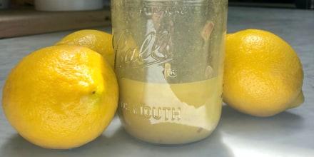 Valerie Bertinelli's Lemon Vinaigrette