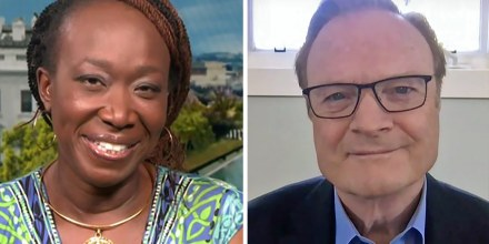 Joy Reid and Lawrence O'Donnell.