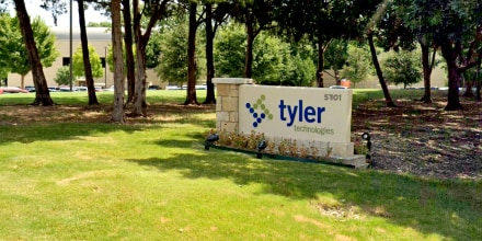 Tyler Technologies, Inc., in Plano, Texas.