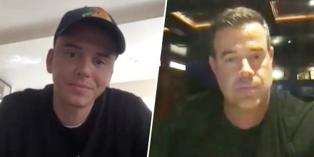 Carson Daly and Logic bond over shared panic attack experiences?