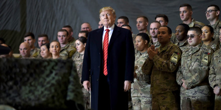 Image: AFGHANISTAN-US-TRUMP-THANKSGIVING