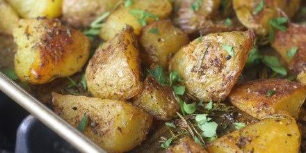 Internet-Famous Crispy Potatoes