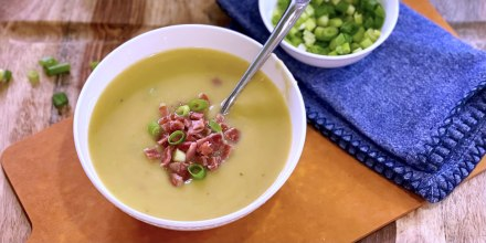 Joy Bauer's Potato Leek Soup