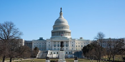 Image: A general view of The U.S. Capitol Building.