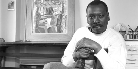 American painter Jacob Lawrence