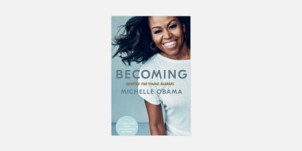 """The children's version of Michelle Obama's \""""Becoming.\"""""""