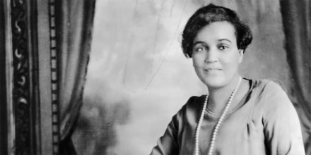 Image: Poet and Critic Jessie Redmon Fauset, circa 1920