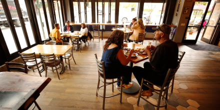 San Luis Obispo county moved into the red tier that allows for indoor dining and gym reopening.