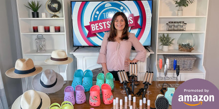 Adrianna Brach shares her Amazon top picks on broadcast