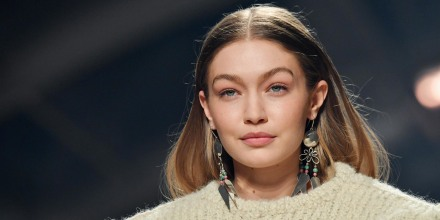 Gigi Hadid walks the runway during the Isabel Marant show as part of the Paris Fashion Week Womenswea
