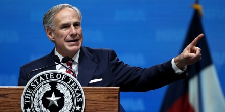 Image: Greg Abbott, National Rifle Association Holds Its Annual Conference In Dallas, Texas