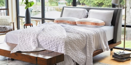 Find the best cooling mattress, cooling sheets or cooling pillow to help you sleep comfortably this summer from Purple, Sheex, Tempur-Pedic, Casper and more.