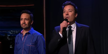 """Broadway's Back!"" with Lin-Manuel Miranda and Jimmy Fallon   The Tonight Show"