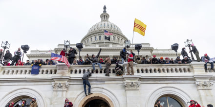 Image: Protesters seen all over Capitol building where pro-Trump