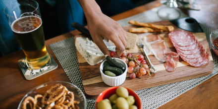 This charcuterie board and cheese knife set is my go-to party platter. Shop the CTFT Cheese Board and other charcuterie boards perfect for post-vaccine reunions.