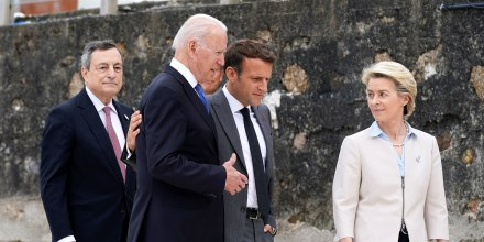 Image: G7 summit in Cornwall