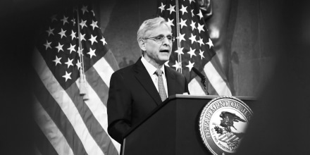 Image: Attorney General Garland Gives Policy Address On Domestic Terrorism