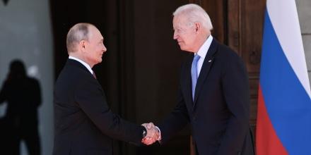 Image: President Joe Biden and Russia's President Vladimir Putin