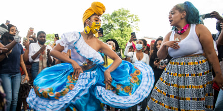 Image: Juneteenth Celebrated In Cities Across America