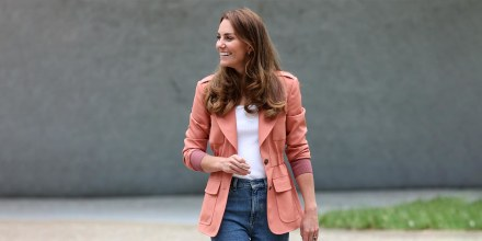 Catherine, Duchess of Cambridge visits 'The Urban Nature Project' at The Natural History Museum on June 22, 2021 in London, England.