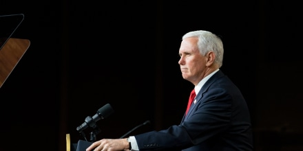 Image: Vice President Mike Pence Campaigns In Georgia For Republican Senate Candidates