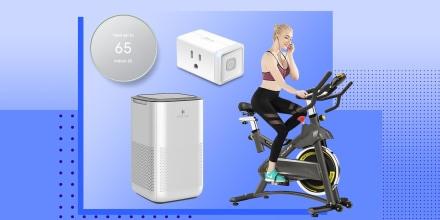 Illustrations of a Google Nest, Smart Plug, Home Bicycle and a Air purifier, all on sale on Amazon Prime Day. Shop the top deals from Amazon Prime Day 2021 Day 2. See the bestsellers and favorite products of Shopping readers, including robot vacuums, air