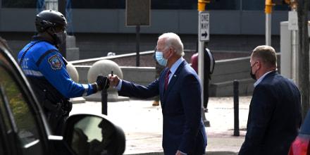 Image: Joe Biden, police