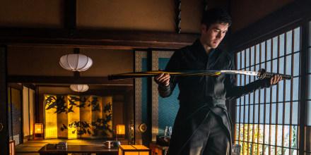 """Image: Henry Golding in a scene from \""""Snake Eyes: G.I. Joe Origins.\"""""""