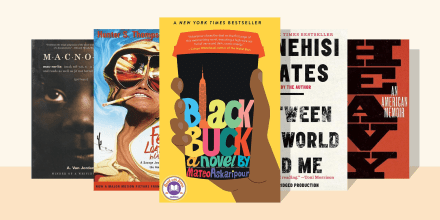 """Illustration of five books to read this July if you liked Read With Jenna's """"Hell of a Book"""" pick by Jason Mott"""