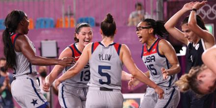 Image: 3x3 Basketball Women's Team USA