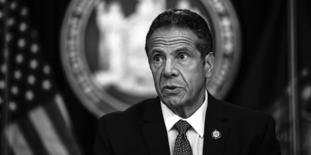 Image: New York Governor Cuomo Holds Briefing In Manhattan