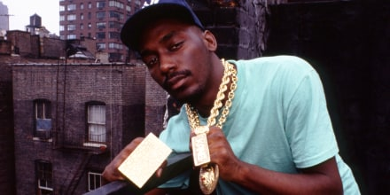Rapper Big Daddy Kane in New York on Aug. 12, 1988.