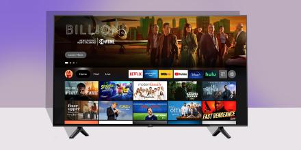 Illustration of the new Amazon Fire TV Omni Series