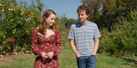 "Image: Kaitlyn Dever and Ben Platt in a scene from \""Dear Evan Hansen.\"""