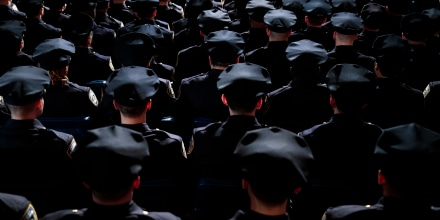 Image: NYPD Graduation Ceremony Held At Madison Square Garden