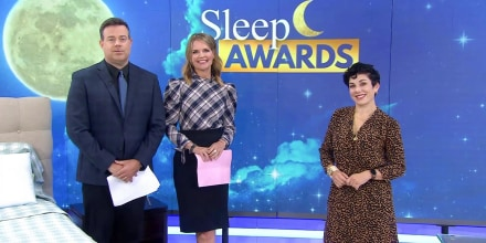 Broadcast about Sleep better at night with these award-winning products