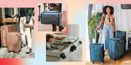 Illustration of different types of luggage to buy on sale now